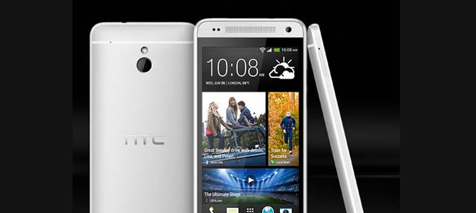 HTC mengumumkan ponsel HTC One Mini dengan layar 4,3″