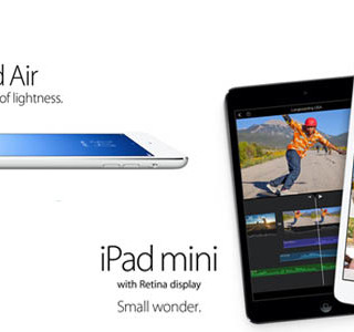 iPad Air dan iPad Mini retina display resmi dirilis, tersedia November