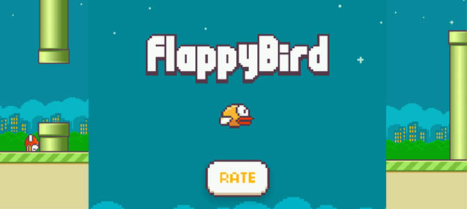 Flappy Bird game sederhana yang membuat anda kecanduan