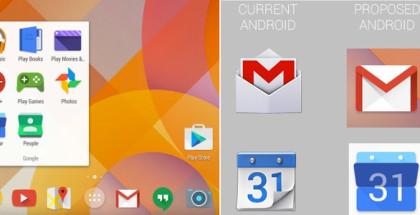 ikon baru android