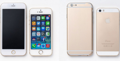 iPhone 6 design gambar