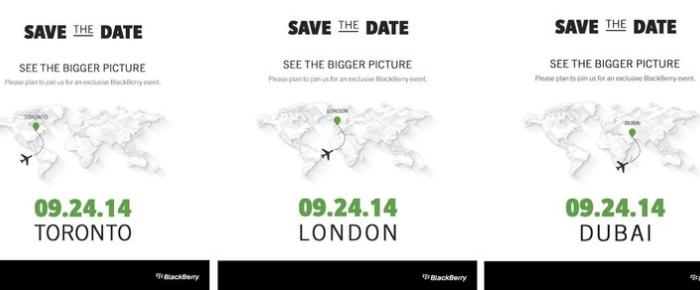 Peluncuran BlackBerry Passport dijadwalkan  pada 24 September