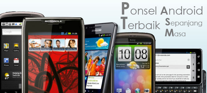 Ponsel Android Terbaik Sepanjang Masa